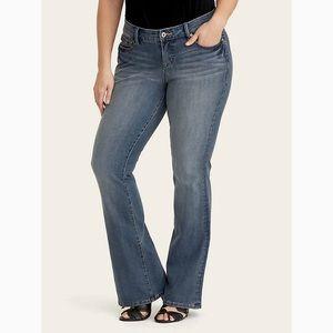 🌾Torrid premium slim bootcut jeans size 16🌾